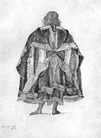 Design to a court dress, durer
