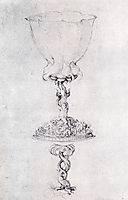 Design For a Goblet, With A Variant Of The Base, c.1515, durer