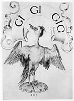 Draft for a book sign Crane, durer