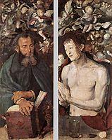 The Dresden Altarpiece (side wings), 1496, durer