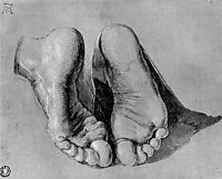 Feet of an apostle, durer
