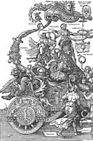 The Great Triumphal Car, 1519, durer
