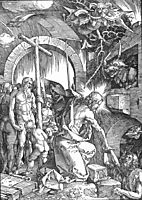 The Harrowing of Hell or Christ in Limbo, from The Large Passion, 1510, durer