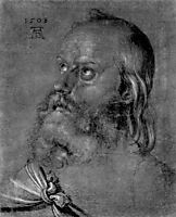 Head of an apostle, durer