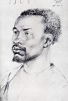 Head Of A Negro, 1508, durer