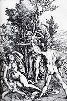 Hercules At The Crossroads, 1498, durer
