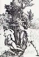 Hercules At The Crossroads, 1498, durer