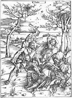 Hercules Killing the Molionides, 1496, durer