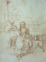 The Holy Family in a Trellis, 15, durer