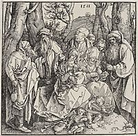 The Holy Kinship and Two Musical Angels, durer