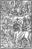 Illustration to Revelationes Sancte Birgitte, 1500, durer