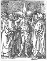 The Incredulity of St Thomas, 1511, durer