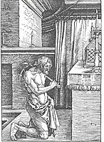King David does repentance, durer