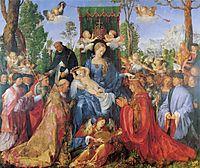 TheLady of the festival du Rosaire, 1506, durer