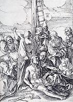 The Lamentation, 1521, durer