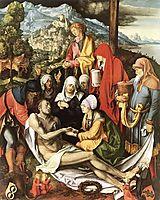Lamentation for Christ, 1500-1503, durer