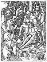 The Lamentation for Christ, 1511, durer