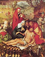 Lamentation of Christ , c.1498, durer