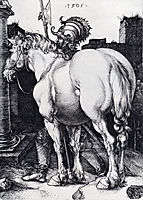 The Large Horse, 1505, durer