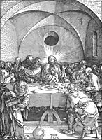 Last Supper, 1510, durer