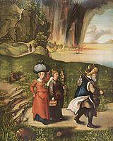 Lot-s escape, c.1496, durer