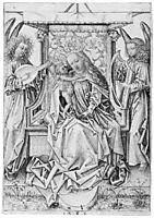 Madonna and Child with musical angels, durer