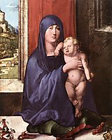 Madonna and Child, Haller Madonna, 1498, durer