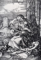Madonna With The Pear, 1511, durer