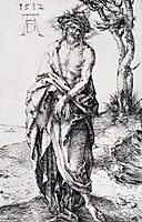 Man Of Sorrows With Hands Bound, 1512, durer