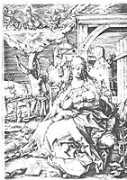 Mary at the gate, 1520, durer
