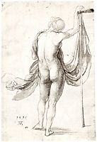 Nude Study (Nude Female from the Back), 1495, durer