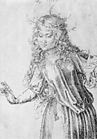 One of the wise virgins, durer