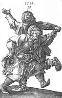 Peasant Couple Dancing, 1514, durer