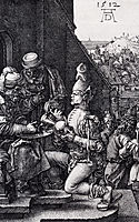Pilate Washing His Hands, Engraved Passion, 1512, durer