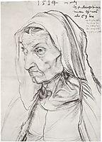 Portrait of the Artist-s Mother , 1514, durer