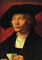 Portrait of Bernhard von Reesen, 1521, durer