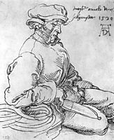 Portrait of the Blessed Arnold of town, durer