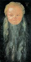 Portrait of a Boy with a Long Beard, durer