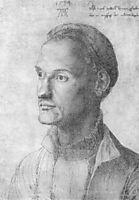 Portrait of Dürer Endres, brother of the painter , durer