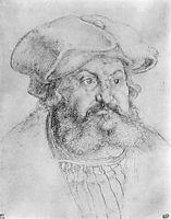 Portrait of Elector Friedrich the Wise , durer