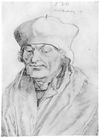 Portrait of Erasmus of Rotterdam , durer