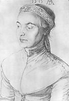 Portrait of a girl , durer