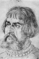 Portrait of Lucas Cranach the Elder , durer