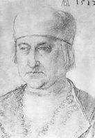 Portrait of a Man with cap , durer
