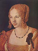 Portrait of a Venetian , 1505, durer