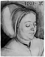 Portrait of a Woman (Creszentia Pirckheimer) , durer