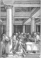 The Presentation of Christ in the Temple, 1505, durer