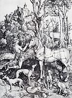 Saint Eustace, 1501, durer