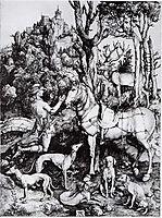 Saint Eustace, c.1501, durer