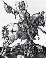 Saint George On Horseback, 1505-1508, durer